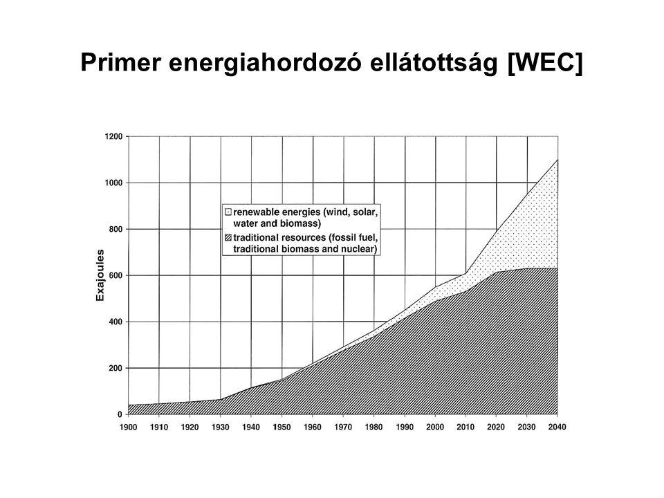 Primer energiahordozó ellátottság [WEC]